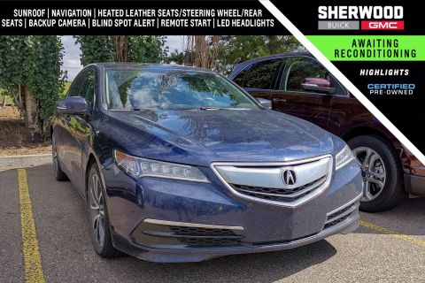 Certified Pre-Owned 2015 Acura TLX V6 SH-AWD AWD 4dr Car