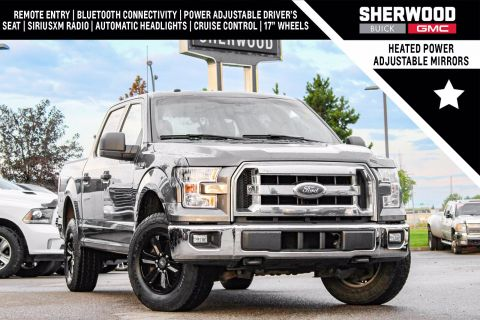 Pre-Owned 2016 Ford F-150 XLT 5.0L 4WD Crew Cab Pickup
