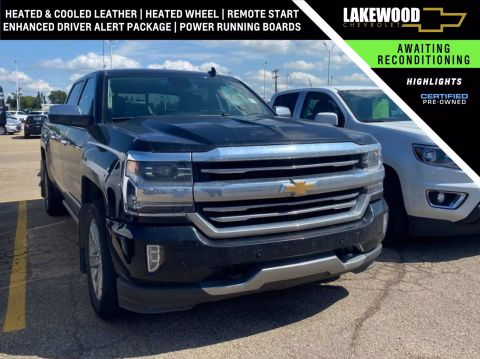 Certified Pre-Owned 2018 Chevrolet Silverado 1500 High Country 4WD Crew Cab Pickup