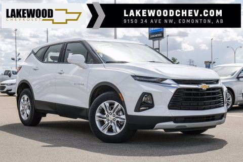2020 Chevrolet Blazer LS DEMO | 3M Paint Protection, A/W Floor Liners, Wheel Locks