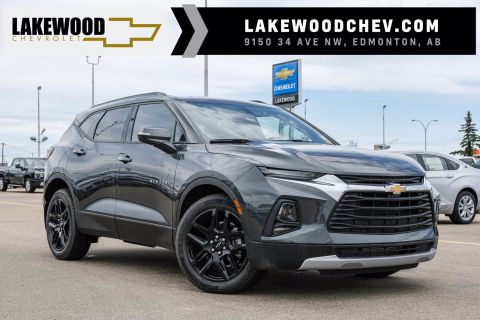 2020 Chevrolet Blazer LT DEMO | A/W Floor Liners, Mud Flaps, Wheel Locks