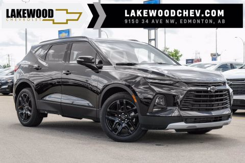 2020 Chevrolet Blazer LT DEMO | 3M Protection, Winter Tires, A/W Floor Liners