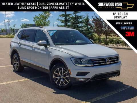 Certified Pre-Owned 2019 Volkswagen Tiguan Comfortline 2.0 TSI 4Motion AWD Sport Utility