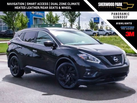 2018 Nissan Murano Midnight Edition AWD